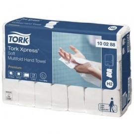 TORK Recambio toallas Pack 21 ud 210x340 110 servicios 2 capas Para H2 System 100288