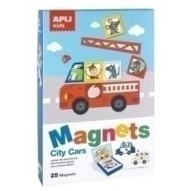 Juego Magnetico Apli Coches 25 Piezas