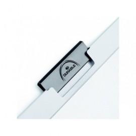 DURABLE Dossiers clip Duraclip Capacidad 30 hojas A4 Azul claro PVC 2200-06