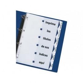AVERY Separadores Maker 12 posiciones A4 Imprimibles 1732061