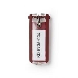 Llavero Etiqueta Durable Rojo Bolsa De 6