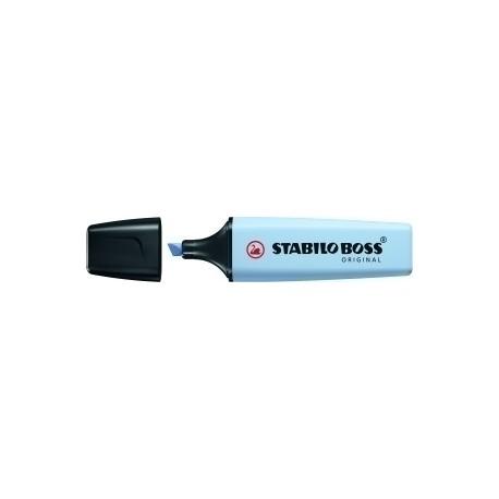 Marcador Fluor Stabilo Boss 70 Pastel Azul Nublado