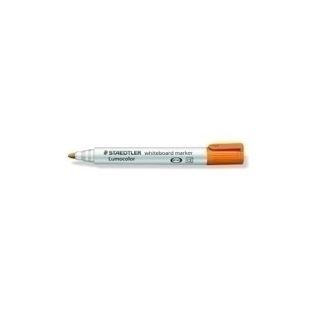 Marcador Pizarra Staedtler 351 Lumocolor Conico Naranja