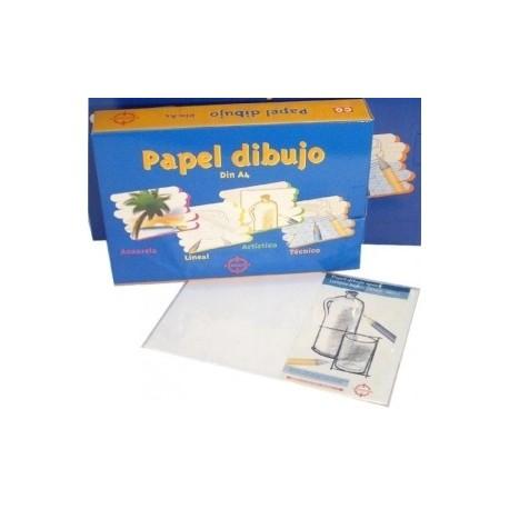 Papel Dibujo Precision Basico A4 Estuche De 250 Hojas 130gr Blanco