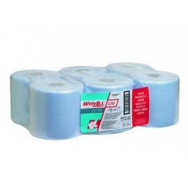 KIMBERLY-CLARK Bobina papel industrial Caja 6 ud 152 m 400 servicios 1 capa 7268