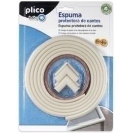 Plico Baby Espuma Protectora De Cantos Blanca (2 M + 4 Ud)