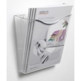 Portadocumentos Mural Deflect-O Docupocket A4 Vertical 1 Compartimento Cristal
