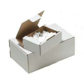 Caja Postal 350x220x130mm Blanca 130781