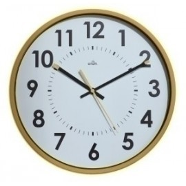 Reloj De Pared A.2000 Analogico 30 Cm Ø Amarillo