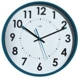 Reloj De Pared A.2000 Analogico 30 Cm Ø Azul