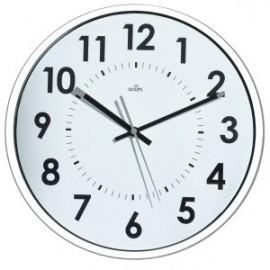 Reloj De Pared A.2000 Analogico 30 Cm Ø Blanco