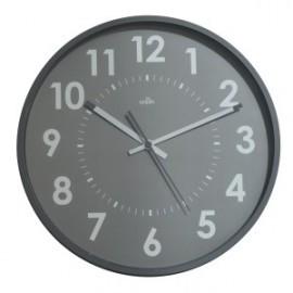 Reloj De Pared A.2000 Analogico 30 Cm Ø Gris