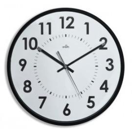 Reloj De Pared A.2000 Analogico 30 Cm Ø Negro