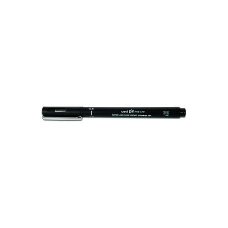 Rotulador Calibrado Uni-Ball Pin Manga 0,8 Mm Negro