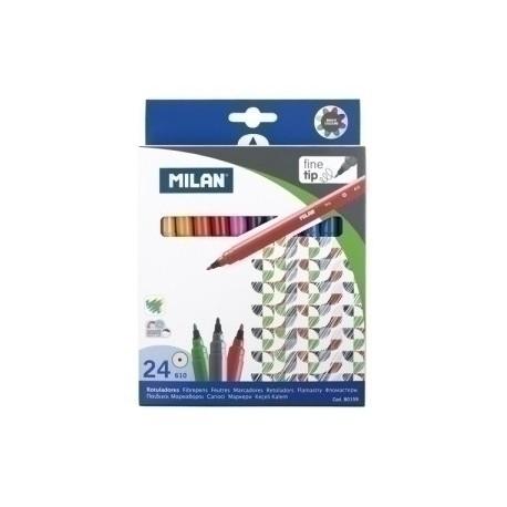 Rotulador Milan 610 Estuche De 24