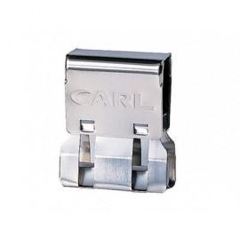 CARL Clips MC-53 Caja 18 ud Hasta 60 hojas No perfora ni daña MC-53