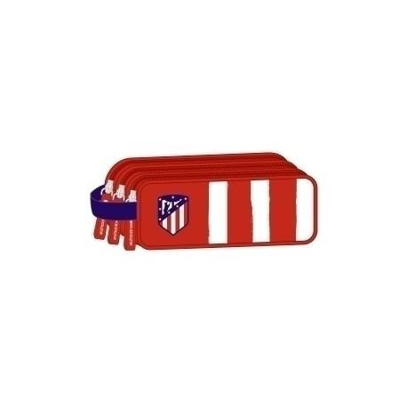 """Safta 2020 Vac (Julio)-Atco. De Madrid """"1ª Equip."""" Portatodo Triple"""