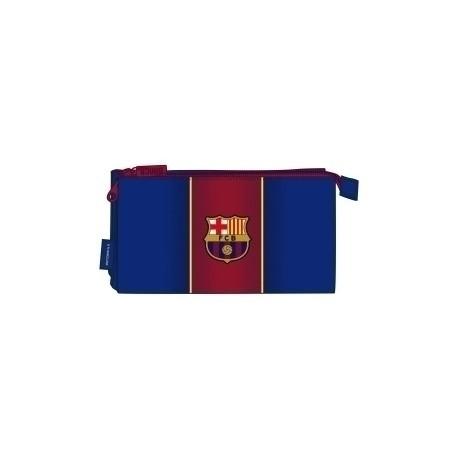 """Safta 2020 Vac (Julio)-F.C.Barcelona """"1ª Equip."""" Portatodo Triple"""