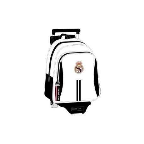 """Safta 2020 Vac (Julio)-Real Madrid """"1ª Equip."""" Mochila Grande Con Carro 705"""