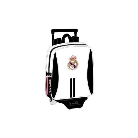 """Safta 2020 Vac (Julio)-Real Madrid """"1ª Equip."""" Mochila Grande Con Carro 805"""