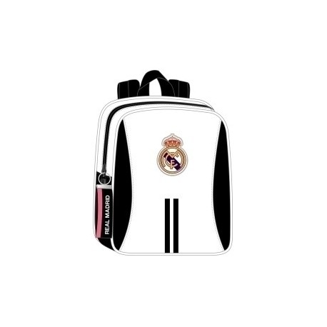 "Safta 2020 Vac (Julio)-Real Madrid ""1ª Equip."" Mochila Guarderia Adaptable A Carro"