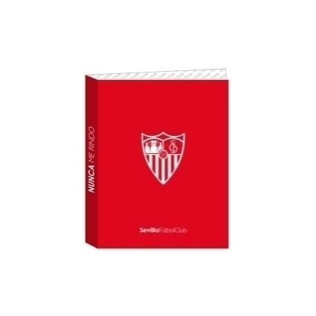 Safta 2020 Vac (Julio)-Sevilla Fc Carpeta De 4 Anillas Mixtas Carton Fº