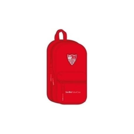 Safta 2020 Vac (Julio)-Sevilla Fc Plumier Mochila Con 4 Portatodos Vacios