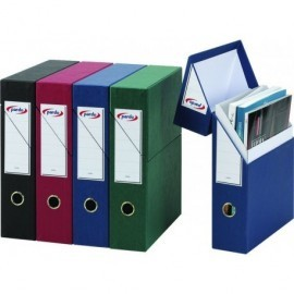 PARDO Estuche archivador  Lomo 80mm A4 Azul  245603