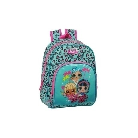 "Safta 2020 Vac (Junio)-Lol Surprise ""Spring Fling"" Mochila Infantil Adaptable A Carro"