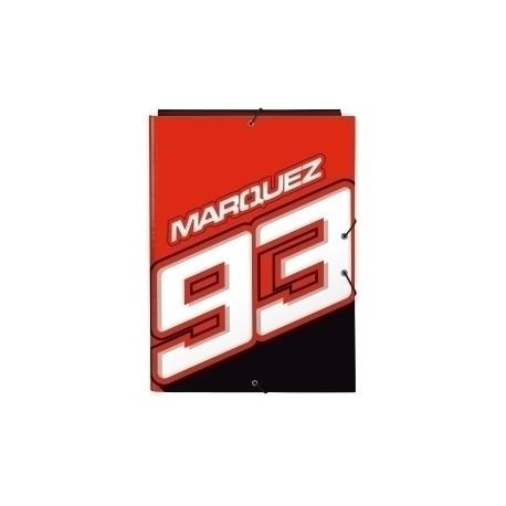 Safta 2020 Vac (Junio)-Marc Marquez Carpeta De Gomas Y 3 Solapas Fº