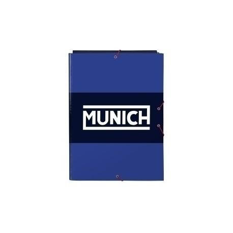 "Safta 2020 Vac (Junio)-Munich ""Retro"" Carpeta De Gomas Y 3 Solapas Fº"