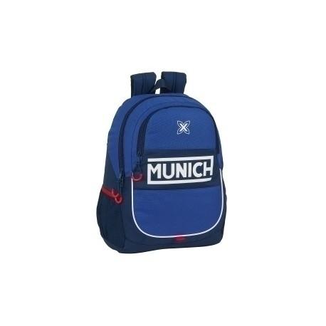 """Safta 2020 Vac (Junio)-Munich """"Retro"""" Mochila Adaptable A Carro"""