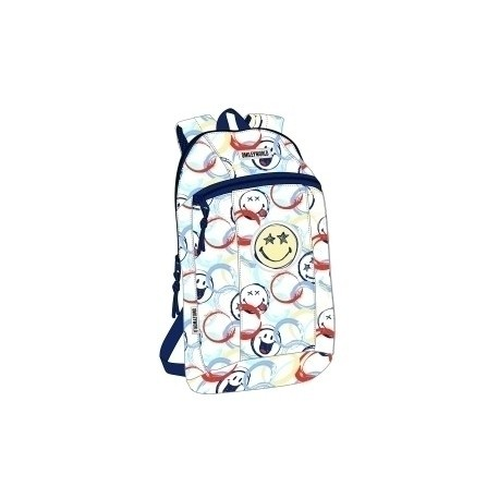 "Safta 2020 Vac (Junio)-Smiley World ""Art"" Mini Mochila"