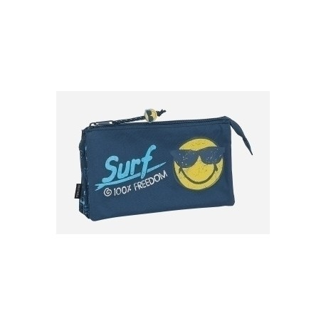 "Safta 2020 Vac (Junio)-Smiley World ""Surf"" Portatodo Triple"