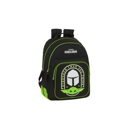 Safta 2020 Vac (Junio)-The Mandalorian Mochila Doble Adaptable A Carro