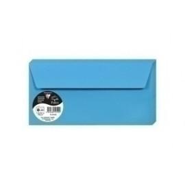 Sobre Clairefontaine Pollen 110x220 120g Azul Turquesa Paquete De 20