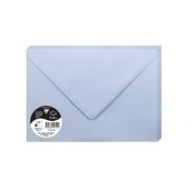 Sobre Clairefontaine Pollen 162x229 120g Azul Lavanda Paquete De 20