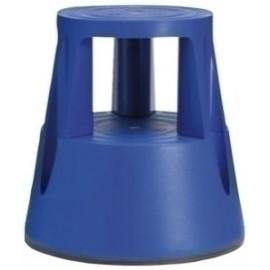 Taburete Twinco Twin Lift 2 Peldaños Con Ruedas Azul