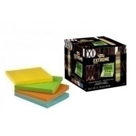 Taco Notas Post-It Extreme 76x76 45h. 4 Colores Pack De 12