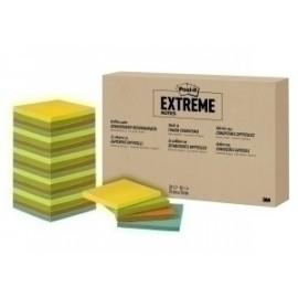 Taco Notas Post-It Extreme 76x76 45h. 4 Colores Pack De 24