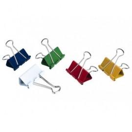 5* Pinzas Clip Caja 12 Ud 19 mm Colores Surtidos 925176