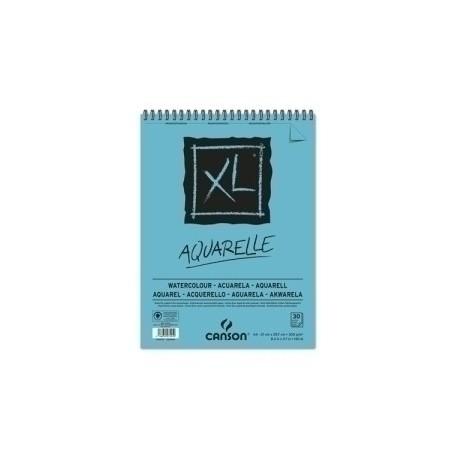 Block De Dibujo Guarro-Canson Xl Aquarelle (Espiral) 300g A4 30h Micro