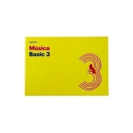 Bloc De Musica Additio Basic 3 Pentagramas 24x17 Apdo.