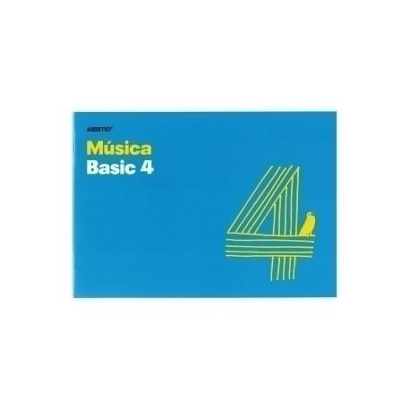 Bloc De Musica Additio Basic 4 Pentagramas 24x17 Apdo.
