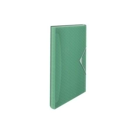 """Clasificador Acordeon Esselte Pp Colour""""Ice A4 6 Separad. Verde"""
