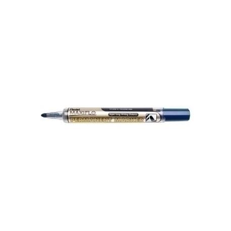 Marcador Permanente Pentel Maxiflo Nlf50 P.Conica Azul