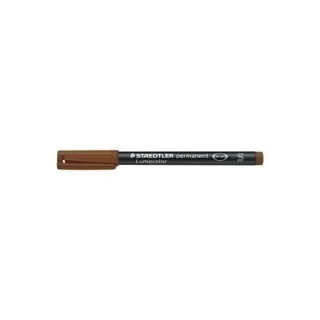 Rotulador Permanente Staedtler 313 Lumocolor (S) Marron
