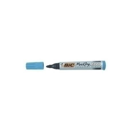 Marcador Permanente Bic Marking 2000 Conico Azul