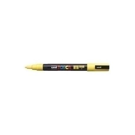 Marcador T.Opaca No Perm. Uni Posca 0,9 (Pc-3m) Amarillo