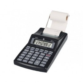 5* Calculadora sobremesa impresion 300PD 12 digitos Electrica y pila KC-P20